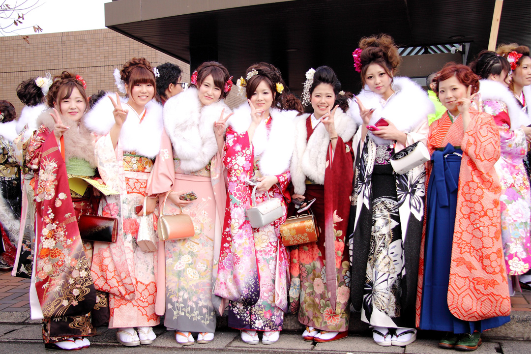 Seijin Shiki, Seijin no hi, coming of age ceremony, coming of age japan, japan italy bridge