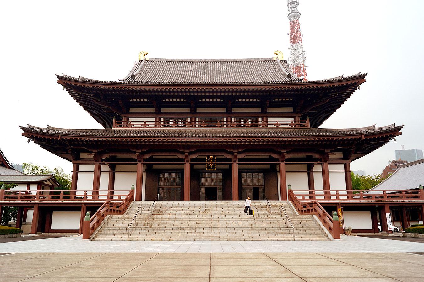 zojoji, zojoji templi, tempio zojoji, tokyo, tempio tokyo, tokyo temple, japan italy bridge