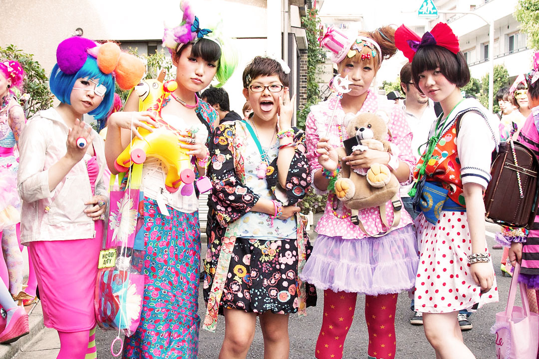 Japan culture harajuku girls the style italy bridge