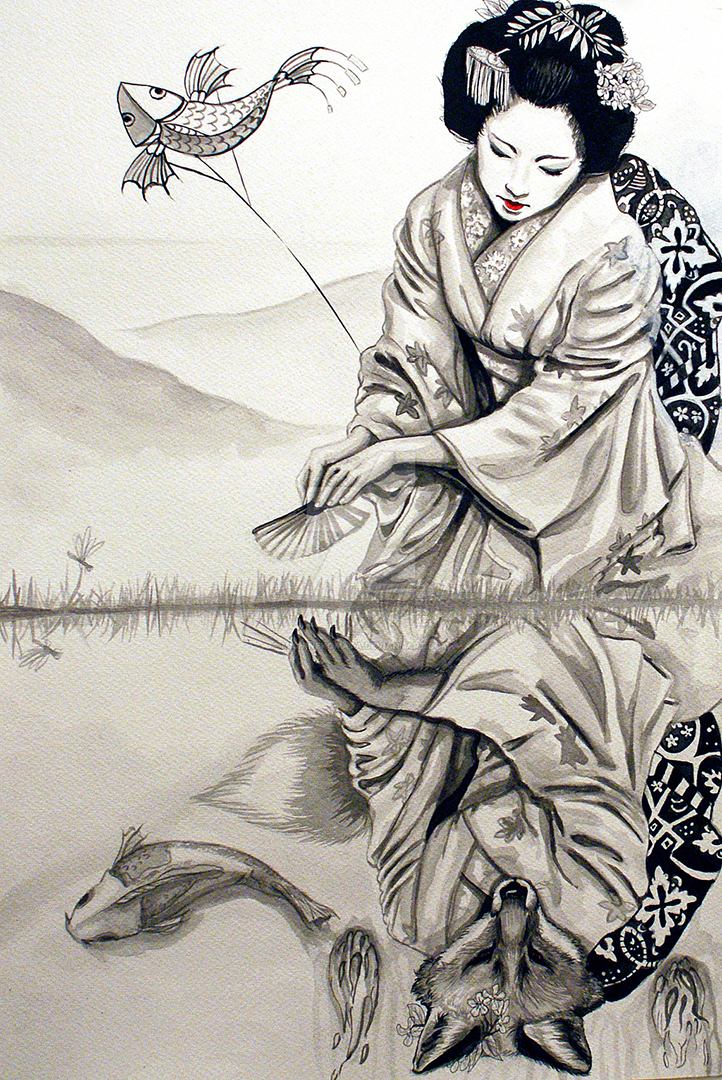 Japan Folklore: The Legend of Kitsune - JAPANITALYBRIDGE com