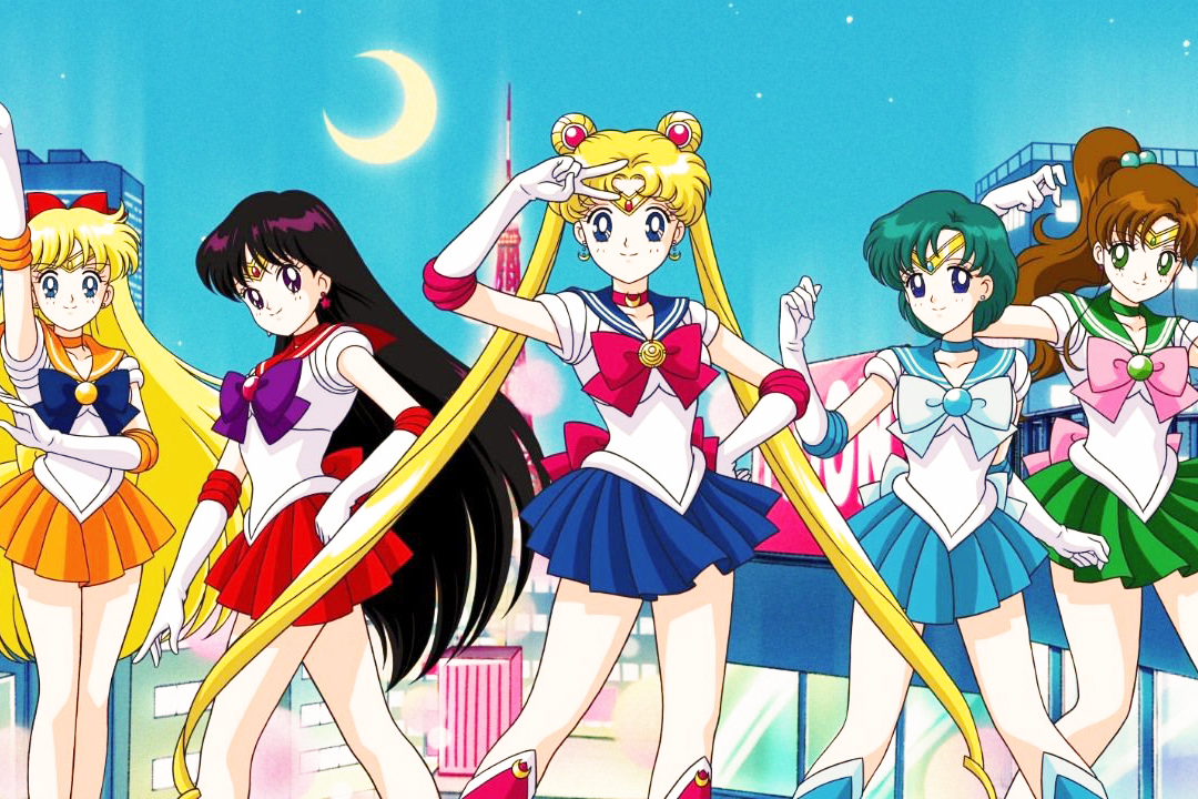 Sailor moon, pretty guardian sailor moon, japan italy bridge, japan, italy