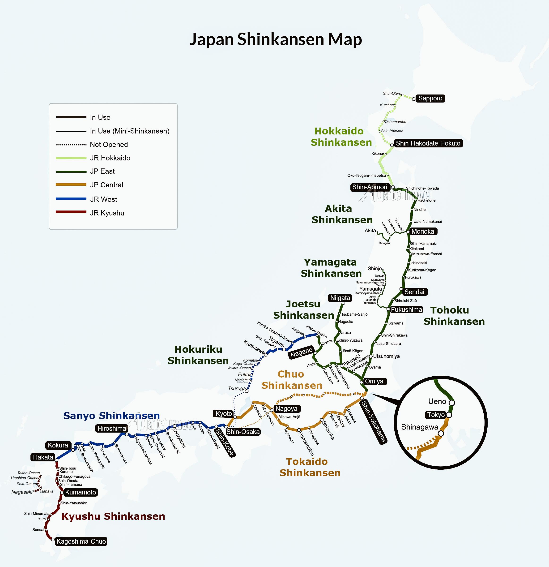 tokyo Osaka shinkansen